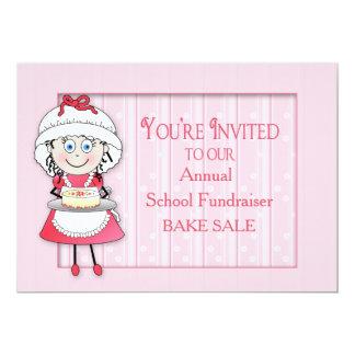 BAKE SALE INVITATION - PERSONALIZE - DORI THE CHEF