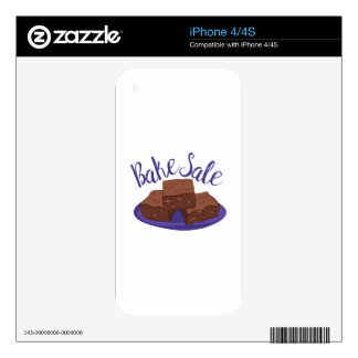 Bake Sale iPhone 4 Skins