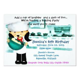 Bake Shoppe Party Card