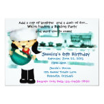 Bake Shoppe Party Personalized Invitations