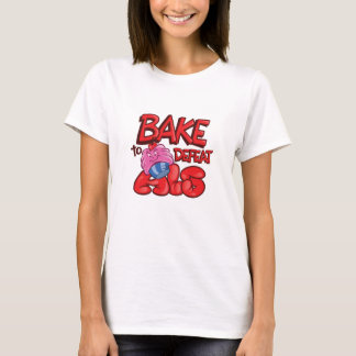 Bake to Defeat ALS Cupcake Specific T-Shirt