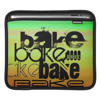 Bake; Vibrant Green, Orange, & Yellow Sleeves For iPads