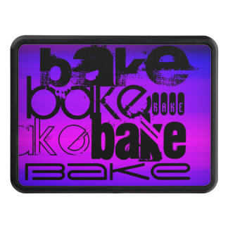 Bake; Vibrant Violet Blue and Magenta Tow Hitch Covers