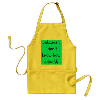 bake,wait i don't know how dduuhh adult apron