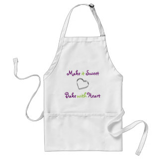 Bake with Heart Apron
