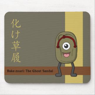 Bake-zouri (Ghost Sandal) Mouse Pad