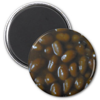 Baked Beans 2 Inch Round Magnet