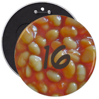 Baked Beans Giant Button Badge