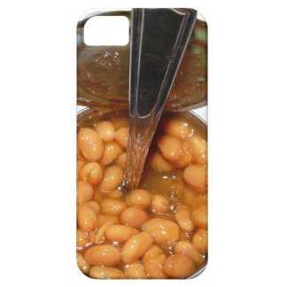 Baked Beans in Tin Can with Spoon iPhone SE/5/5s Case