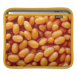 Baked beans on iPad Rickshaw sleeve Sleeves For iPads