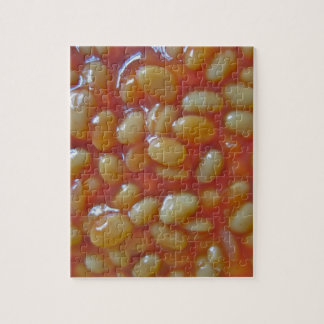 Baked Beans Puzzle/Jigsaw with Tin