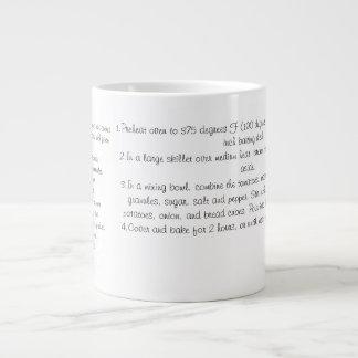 Baked Beef Stew Mug 20 Oz Large Ceramic Coffee Mug