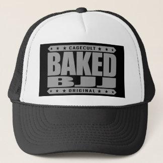 BAKED BJJ - I Love Brazilian Jiu-Jitsu, Silver Trucker Hat
