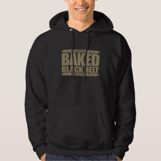 BAKED BLACK BELT - Love Brazilian Jiu-Jitsu, Gold Hoodie