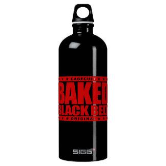 BAKED BLACK BELT - Love Brazilian Jiu-Jitsu, Red Water Bottle