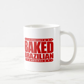 BAKED BRAZILIAN - Love Training Jiu-Jitsu, Red Coffee Mug