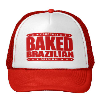 BAKED BRAZILIAN - Love Training Jiu-Jitsu, Red Trucker Hat