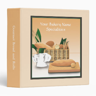 Baked Bread Bakery Product-Recipe Binder