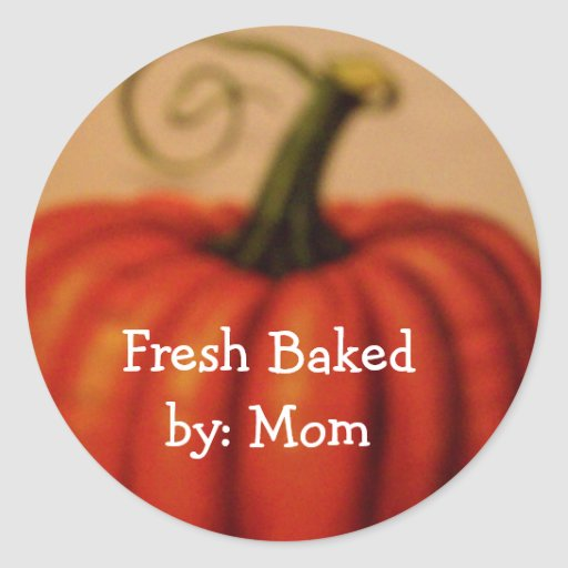 baked by : MOM stickers