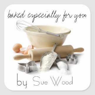 Baked by YOU Gift Tags Stickers