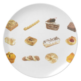 Baked Cakes and Pastries Dinner Plates