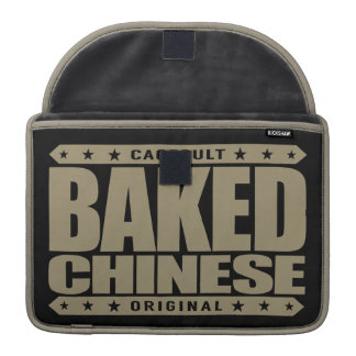 BAKED CHINESE - I Am Expert Dragon Chaser, Gold Sleeve For MacBooks
