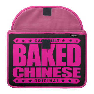 BAKED CHINESE - I Am Expert Dragon Chaser, Pink Sleeve For MacBook Pro