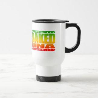 BAKED DNA - Green Plant Engineered Super Genetics Travel Mug