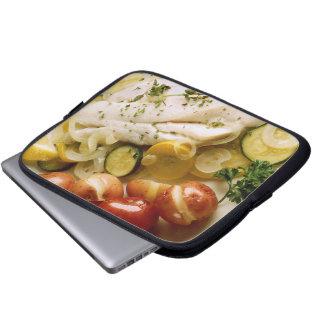 Baked Fish Dinner Laptop Sleeve