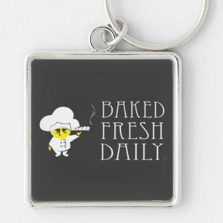 Baked Fresh Daily Keychain