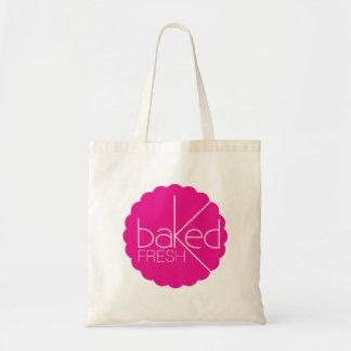 Baked fresh logo bakers bag