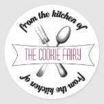 Baked Goodies Label Sticker