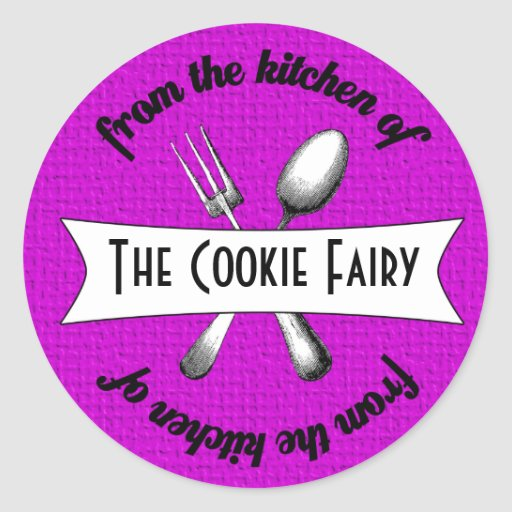 Baked Goodies Package Seal Sticker