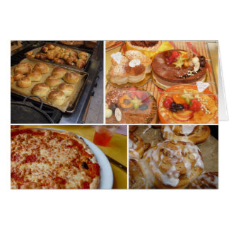 Baked Goods, a Notecard by Brad Hines