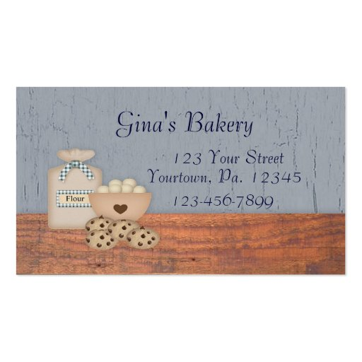 Baked Goods Business Card
