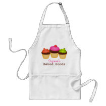 Baked Goods Cupcakes Apron
