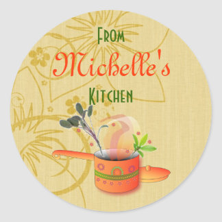 Baked Goods Gift Label Template Sticker