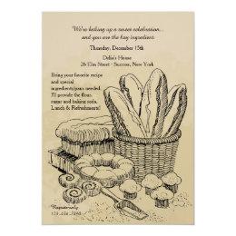 Baked Goods Invitation
