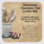 Baked Goods or Mix Gift Jar Labels, Personalized Stickers