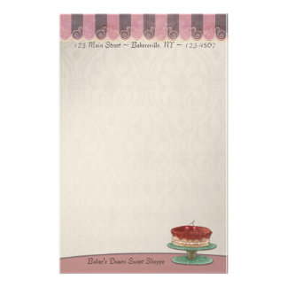 Baked Goods Stationery