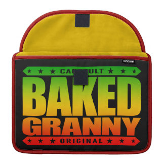 BAKED GRANNY - Pain-Free & Relaxed Senior Citizen Sleeve For MacBooks