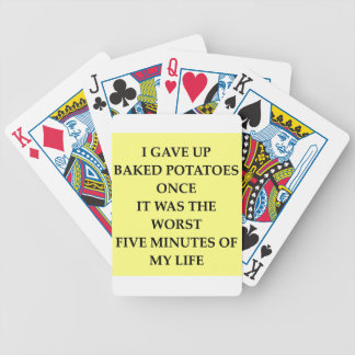 BAKED.jpg Bicycle Playing Cards