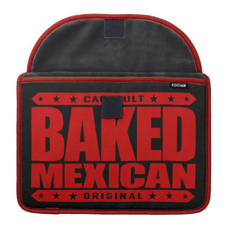 BAKED MEXICAN - I Am Ancient Mayan Serpent Warrior MacBook Pro Sleeve