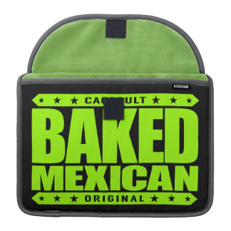 BAKED MEXICAN - I Am Ancient Mayan Serpent Warrior Sleeve For MacBooks