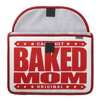 BAKED MOM - I'm A Domestic Brownie Baking Goddess Sleeve For MacBook Pro