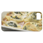 Baked pasta shells with spinach filling iPhone 5 cover