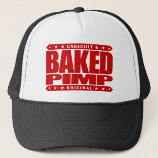 BAKED PIMP - Green Silicon Valley Angel Investor Trucker Hat