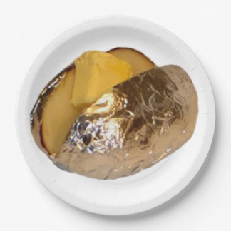 Baked Potato Paper Plate