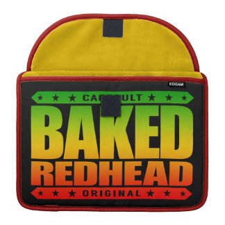 BAKED REDHEAD - From Smoke a Fiery Phoenix Rising MacBook Pro Sleeve