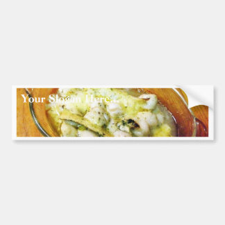 Baked Scallops Food Bumper Stickers